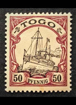 Vokietijos Reichas, Užsienio ir kolonijų paštas, Togas, MiNr 14 MH*