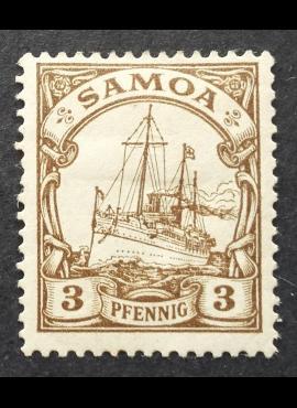 Vokietijos Reichas, Užsienio ir kolonijų paštas, Samoa, MiNr 7 MH*