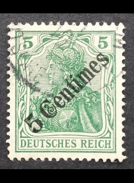 Vokietijos Reichas, Užsienio ir kolonijų paštas, Turkija, MiNr 48 Used (O)