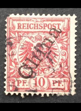 Vokietijos Reichas, Užsienio ir kolonijų paštas, Kinija, MiNr 3 II Used (O)
