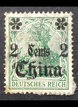 Vokietijos Reichas, Užsienio ir kolonijų paštas, Kinija, MiNr 39 Used (O)