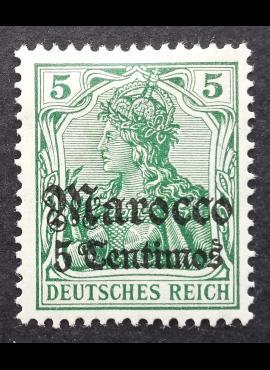 Vokietijos Reichas, Užsienio ir kolonijų paštas, Marokas, MiNr 35 MH*