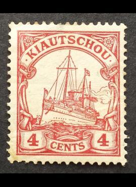 Vokietijos Reichas, Užsienio ir kolonijų paštas, Kiautšau, MiNr 20 MH*