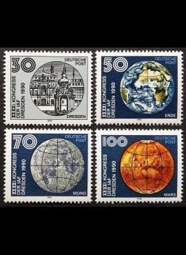 Vokietijos Demokratinė Respublika (VDR), pilna serija, MiNr 3361-3363 MNH**