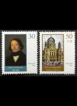 Vokietijos Demokratinė Respublika (VDR), pilna serija, MiNr 3358-3359 MNH**