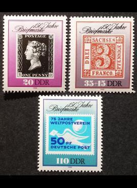 Vokietijos Demokratinė Respublika (VDR), pilna serija, MiNr 3329-3331 MNH**