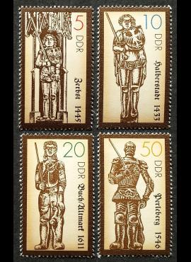 Vokietijos Demokratinė Respublika (VDR), pilna serija, MiNr 3285-3288 MNH**