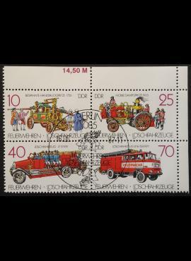 Vokietijos Demokratinė Respublika (VDR), pilna serija, MiNr 3101-3104 Used (O)