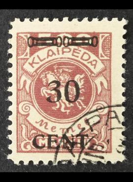 Klaipėda (Memel), MiNr 175I Used (O)