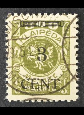 Klaipėda (Memel), MiNr 179III Used (O)