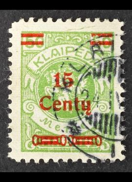 Klaipėda (Memel), MiNr 210I Used (O)
