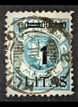 Klaipėda (Memel), MiNr 192 Used (O), Ekspertuotas