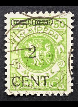 Klaipėda (Memel), MiNr 177III Used (O)