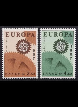 Graikija, pilna serija, MiNr 948-949 MNH**