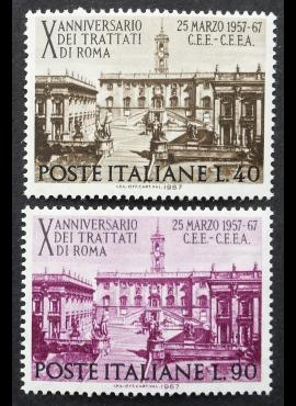Italija, pilna serija, MiNr 1221-1222 MNH**
