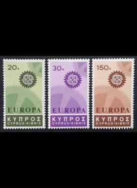 Kipras, pilna serija, MiNr 292-294 MNH**