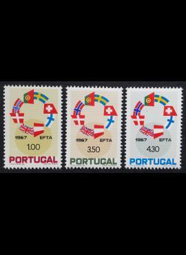 Portugalija, pilna serija, MiNr 1043-1045 MNH**