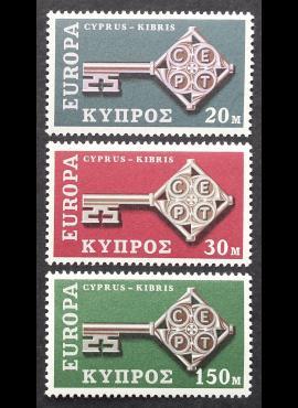 Kipras, pilna serija, MiNr 307-309 MNH**