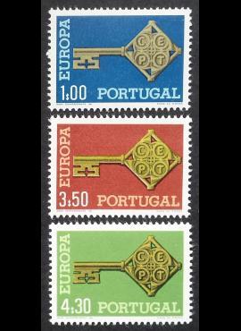 Portugalija, pilna serija, MiNr 1051-1053 MNH**