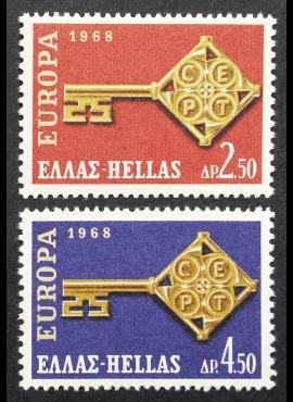 Graikija, pilna serija, MiNr 974-975 MNH**