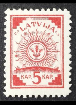 Latvija, MiNr 2III MNG (*)