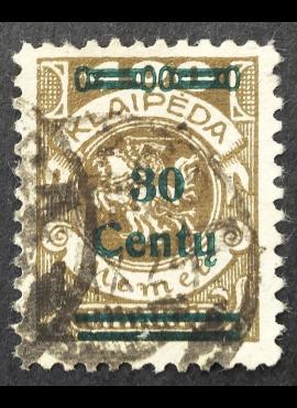 Klaipėda (Memel), MiNr 228II Used (O)