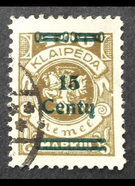 Klaipėda (Memel), MiNr 212II Used (O)