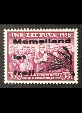 Klaipėda (Memel), MiNr III-II MLH*
