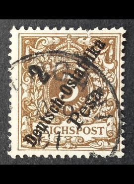 Vokietijos Reichas, Užsienio ir kolonijų paštas, Vokietijos Rytų Afrika, MiNr 6 Used (O)