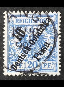 Vokietijos Reichas, Užsienio ir kolonijų paštas, Vokietijos Rytų Afrika, MiNr 9 Used (O)