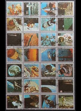 JAE, Umm Al Qiwain, pilna serija, MiNr 859-886 (A) Used (O)