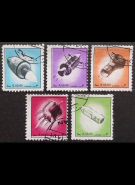 JAE, Ajman States, pilna serija, MiNr 2503-2507 Used (O)
