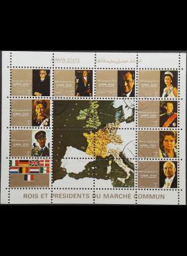 JAE, Ajman States, pilna oro pašto serija, MiNr 2596-2604 Used (O)