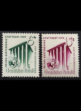 Vokietijos Reichas, pilna serija, MiNr 692-693 MLH*/MH*