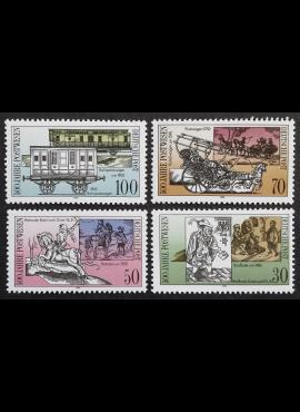 Vokietijos Demokratinė Respublika (VDR), pilna serija, MiNr 3354-3357 MNH**