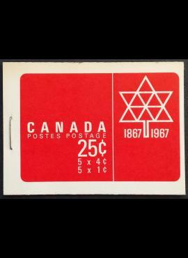 Kanada, kišeninė knygelė Nr 54, pilnas komplektas su MiNr 398 ir 401 MNH**