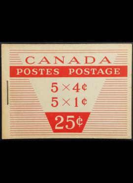 Kanada, kišeninė knygelė Nr 53, nepilnas komplektas su MiNr 348 ir 351 MNH**