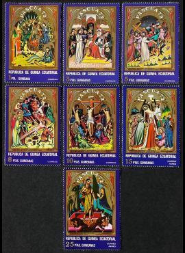 Pusiaujo Gvinėja, pilna serija, MiNr 46-52 MNH**