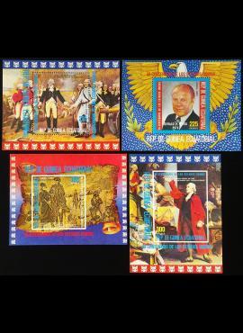 Pusiaujo Gvinėja, pilna blokų serija, MiNr 174-177 MNH**