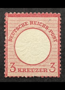 Vokietijos Reichas, MiNr 25MH*