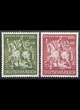 Vokietijos Reichas, pilna serija, MiNr 860-861 MLH*