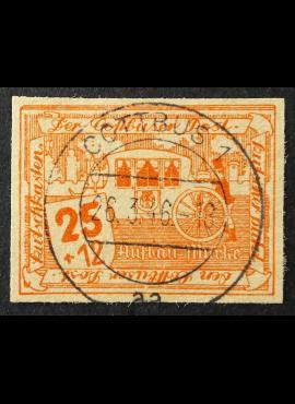 Vokietijos lokalus paštas, Kotbusas, MiNr 32 Used (O)