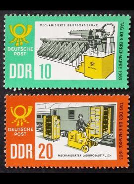 Vokietijos Demokratinė Respublika (VDR), pilna serija, MiNr 998-999 MNH**