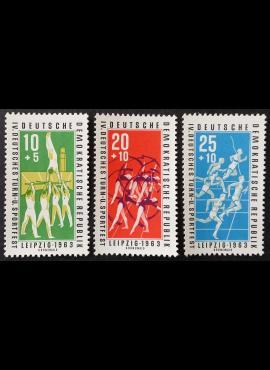 Vokietijos Demokratinė Respublika (VDR), pilna serija, MiNr 963-965 MNH**