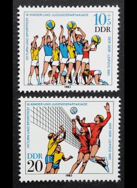 Vokietijos Demokratinė Respublika (VDR), pilna serija, MiNr 2814-2815 MNH**