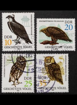 Vokietijos Demokratinė Respublika (VDR), pilna serija, MiNr 2702-2705 Used (O)