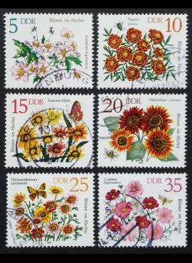 Vokietijos Demokratinė Respublika (VDR), pilna serija, MiNr 2737-2742 Used (O)