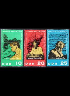 Vokietijos Demokratinė Respublika (VDR), pilna serija, MiNr 1084-1086 Used (O)
