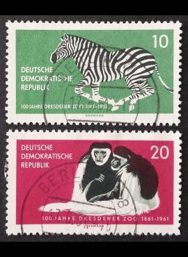 Vokietijos Demokratinė Respublika (VDR), pilna serija, MiNr 825-826 Used (O)