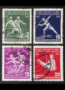 Vokietijos Demokratinė Respublika (VDR), pilna serija, MiNr 530-533 Used (O)